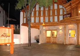 Antiguos Hotel - arquitectura