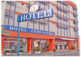 Hotel Cervantes - arquitectura