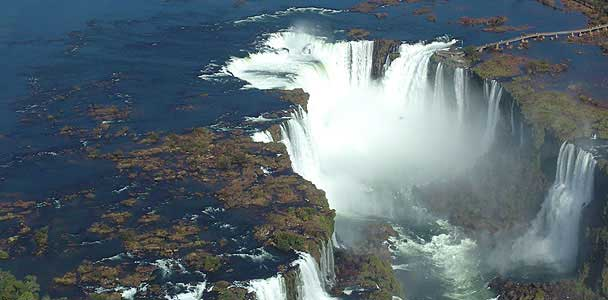 Iguazú - recorridos