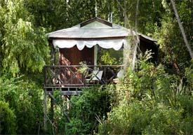 La Becasina Delta Lodge - arquitectura