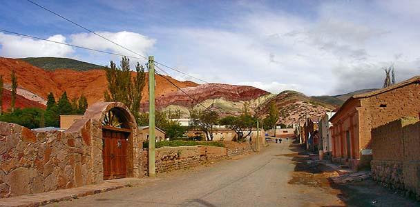 Purmamarca - paisajes